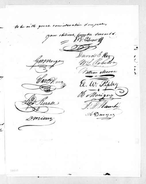 Louisiana Legislature to Andrew Jackson, December 3, 1827