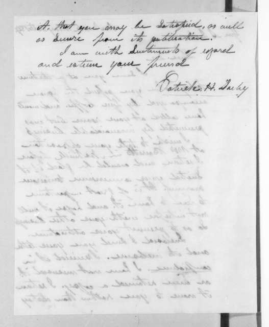 Patrick Henry Darby to Andrew Jackson, May 24, 1827