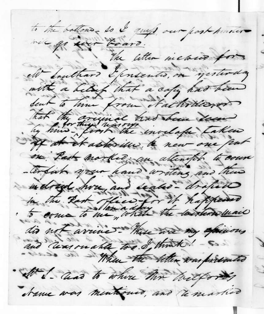Samuel Houston to Andrew Jackson, February 4, 1827