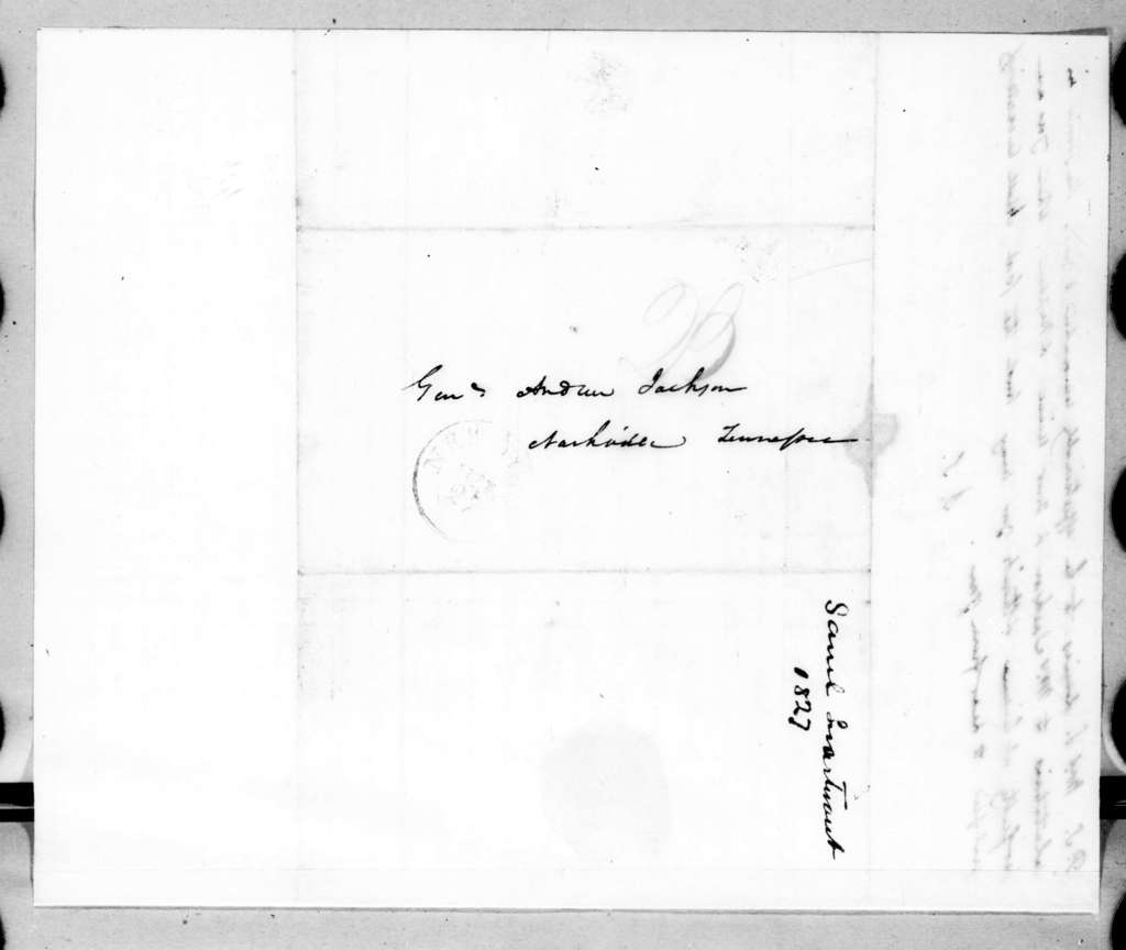 Samuel Swartwout to Andrew Jackson, July 20, 1827