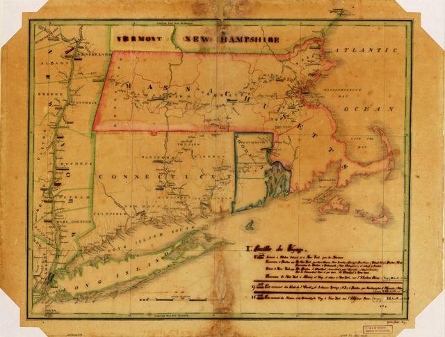 Voyage du Général Lafayette aux États-Unis.
