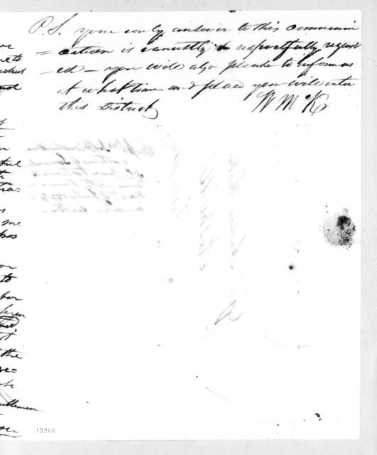 Andrew Jackson to James Hervey Witherspoon et al., May 12, 1828