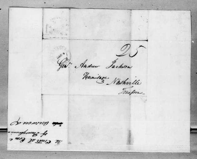 Calvin Blythe et al. to Andrew Jackson, December 9, 1828