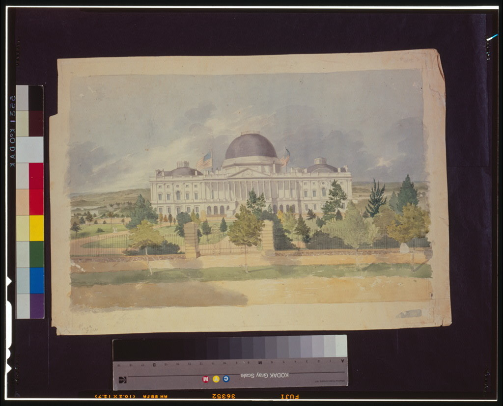 [East front of the United States Capitol]