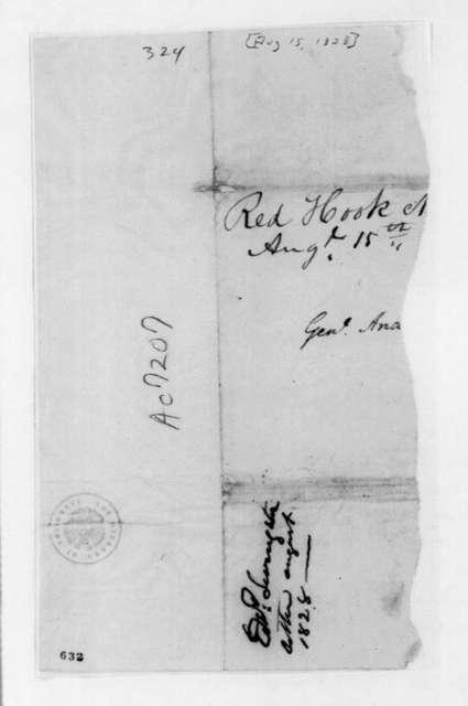Edward Livingston to Andrew Jackson
