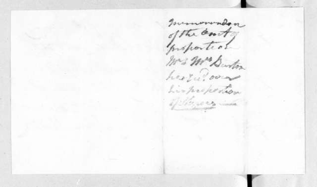 Enoch P. Connell to Allen Mathis, January 15, 1828