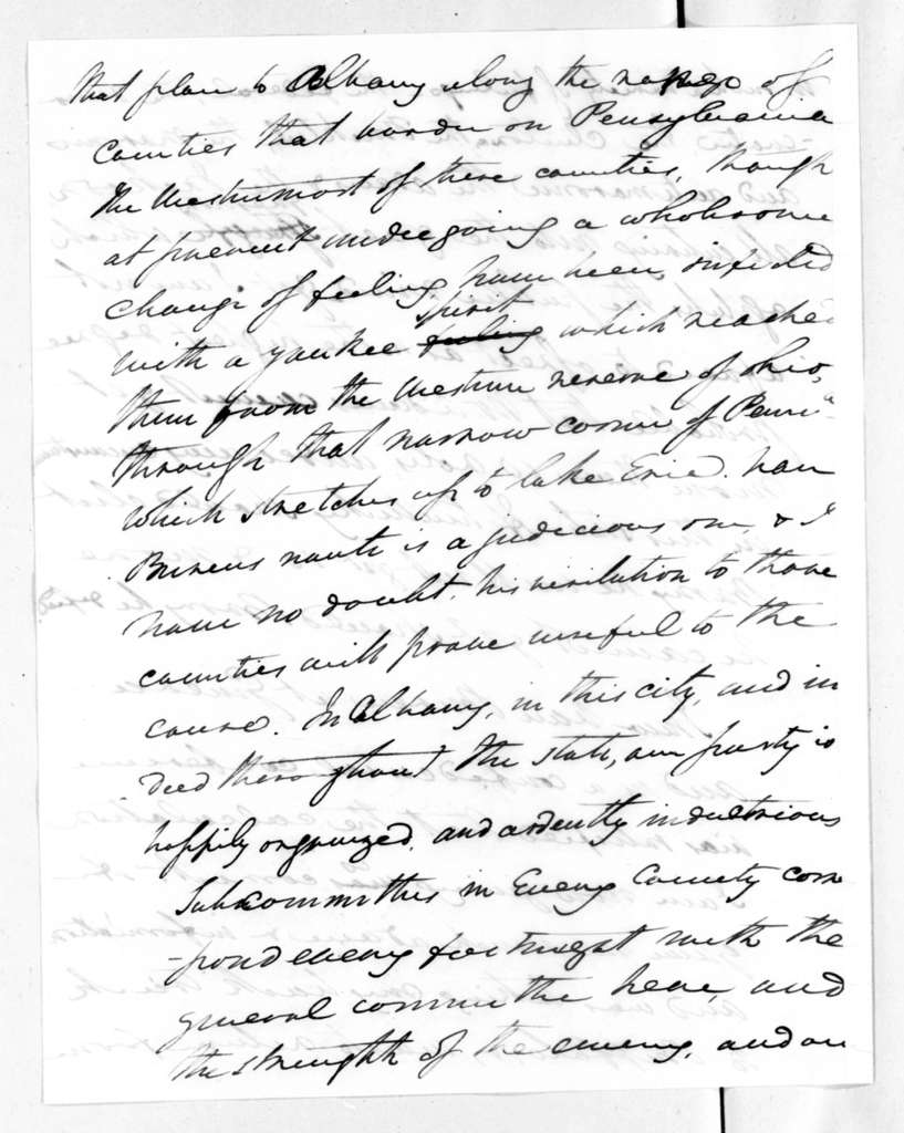 Henry Lee to Andrew Jackson, August 12, 1828