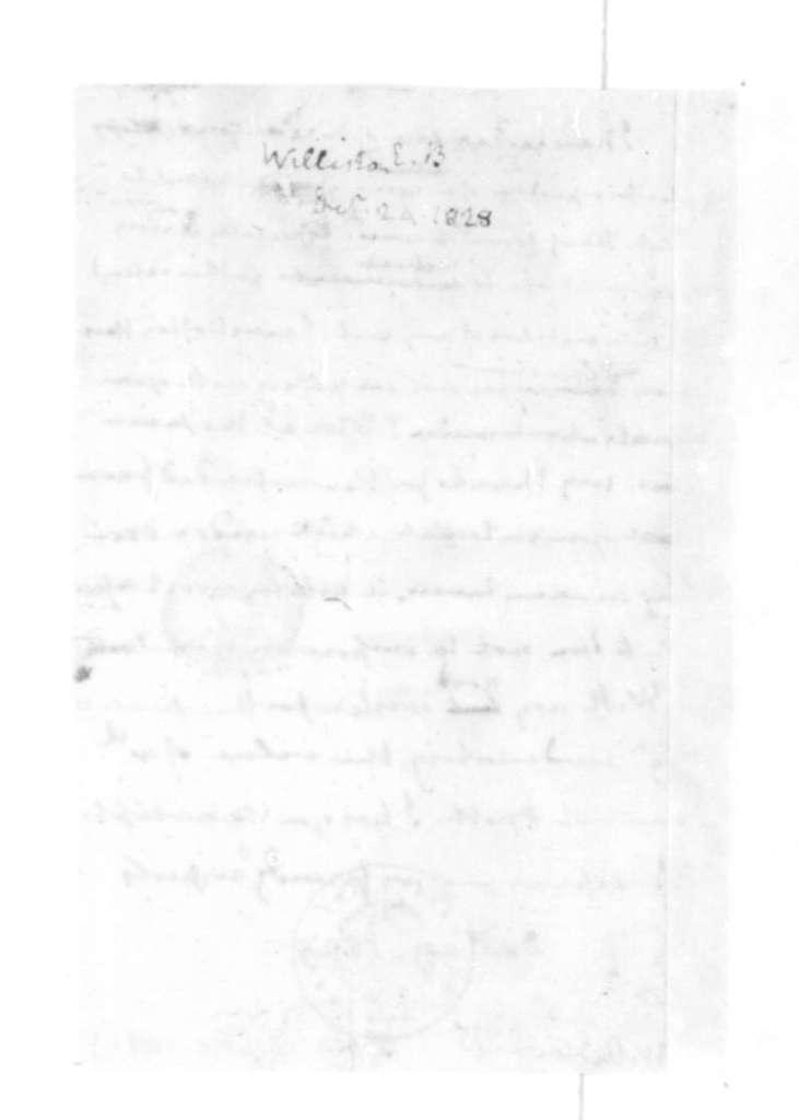 James Madison to E. B. Williston, December 29, 1828.