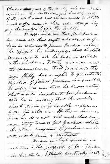 James Shannon to John Shelby, October 23, 1828