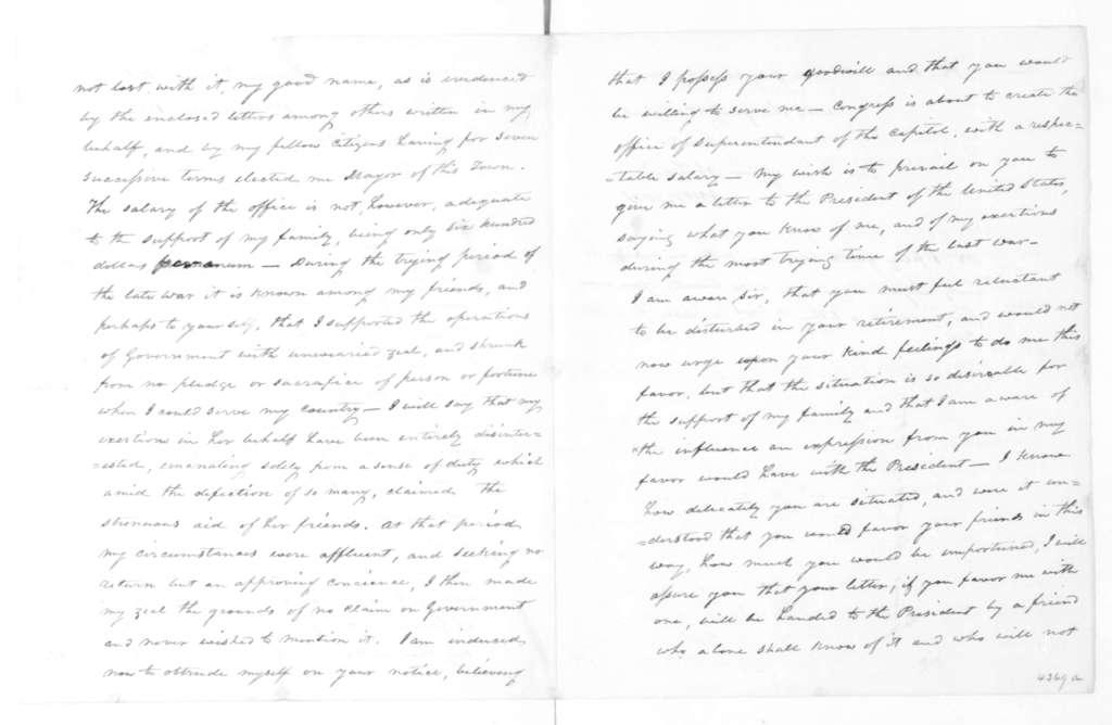 John Cox to James Madison, February 1, 1828.