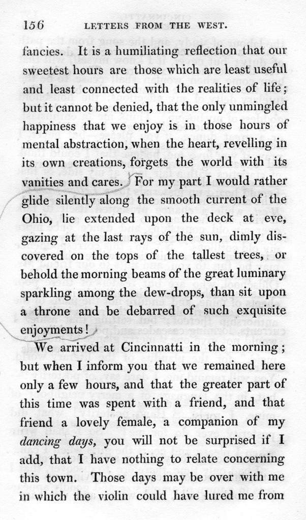 Letters from the West : containing sketches of scenery, manners, and customs, and anecdotes connected with the first settlements of the western sections of the United States