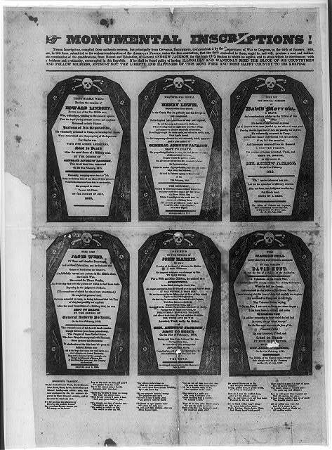Monumental inscriptions!
