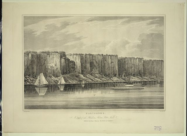 Palisades / painted by W.G. Wall ; engraved by I. Hill.