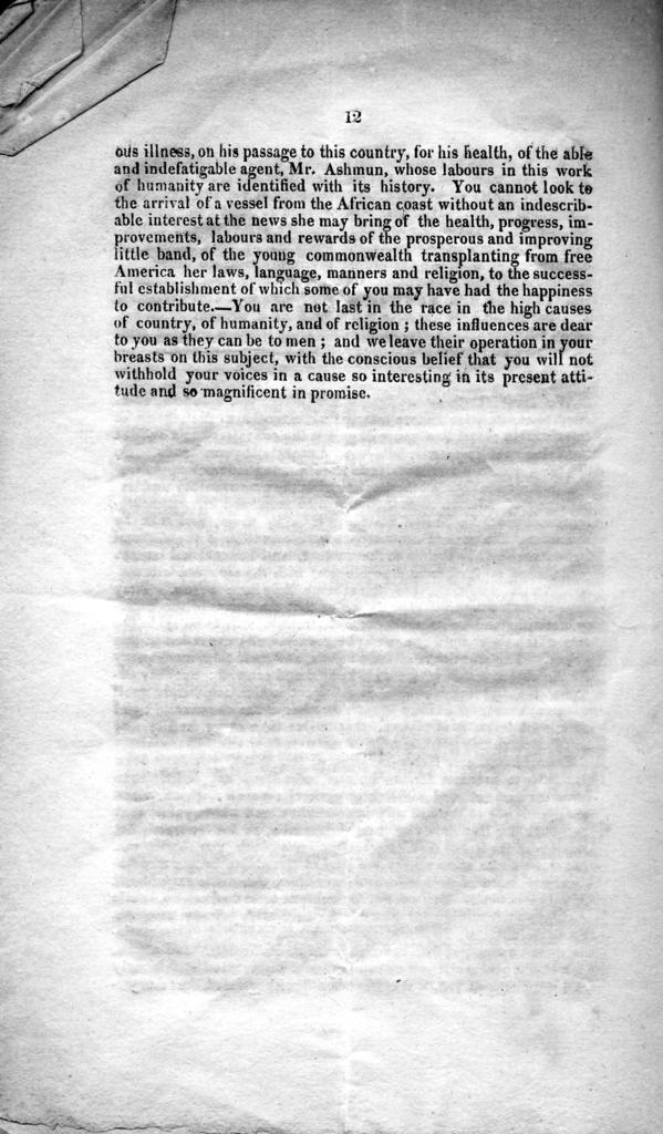 Second annual report of the managers of the Lexington and Fayette County Auxiliary Colonization Society : made at the annual meeting, July 8, 1828