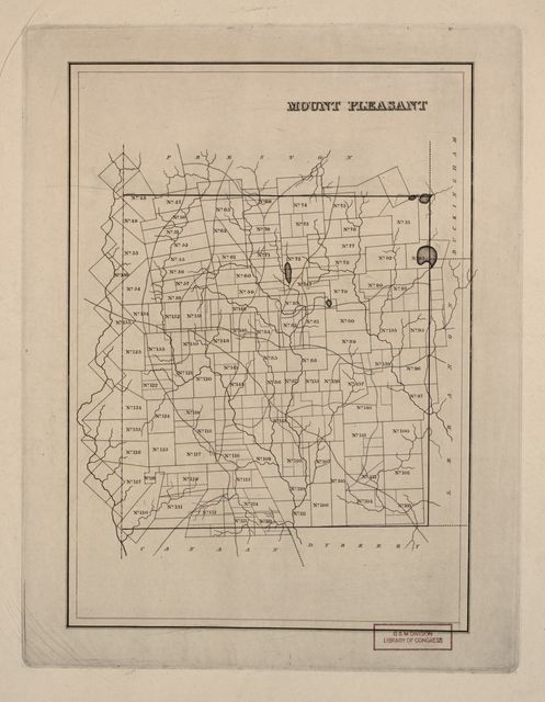 [Warrantee landholdings in the townships of Wayne County, Pa., ca. 1828-1835] /