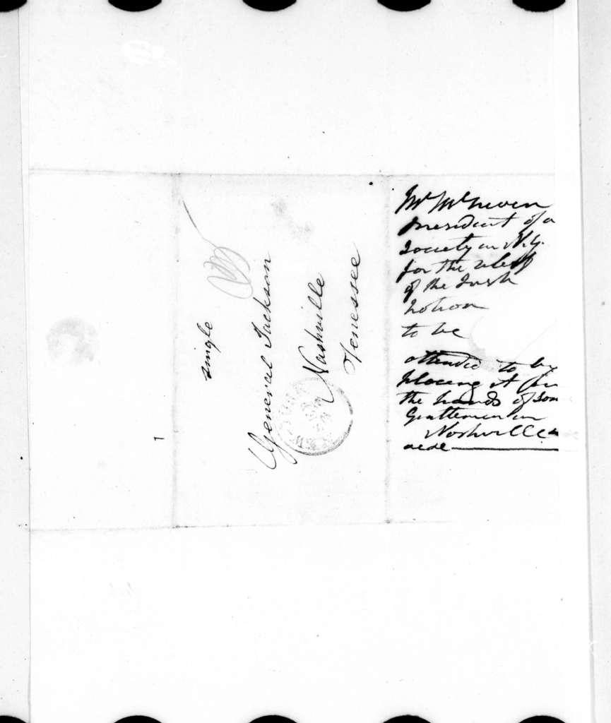 William J. Macneven to Andrew Jackson, September 20, 1828