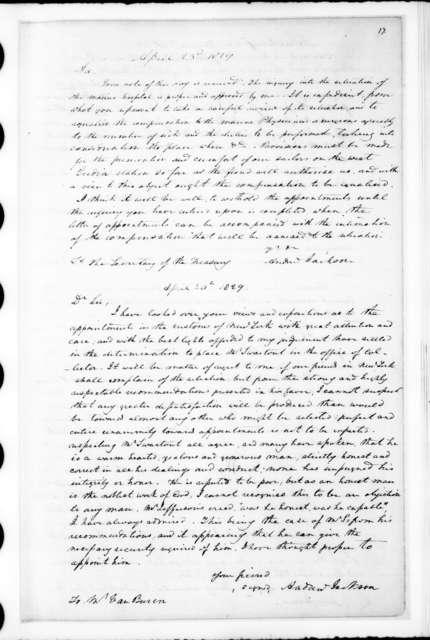 Andrew Jackson Letterbook, Feb. 15, 1829 - Aug. 27, 1831. February 15, 1829