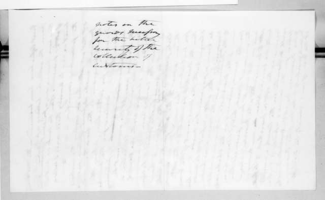Andrew Jackson, October 10, 1829