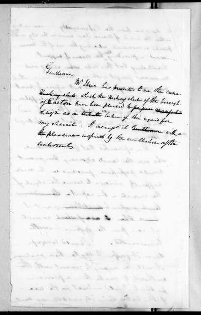 Andrew Jackson to Andrew Stevenson, December 17, 1829