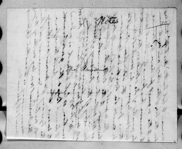 Andrew Jackson to Charles Pendleton Tutt