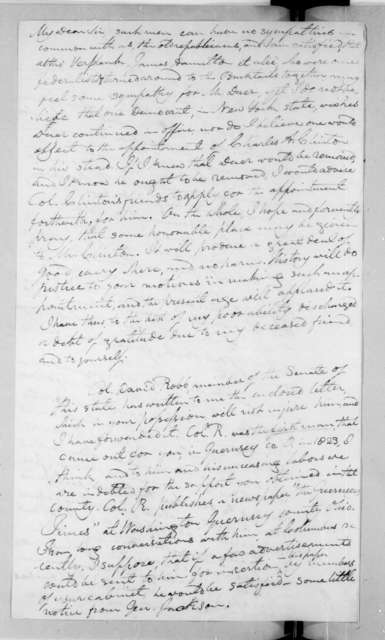 Caleb Atwater to Andrew Jackson, February 28, 1829