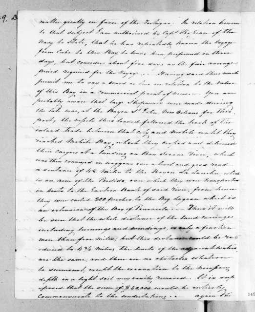 Charles Pendleton Tutt to Andrew Jackson, December 14, 1829