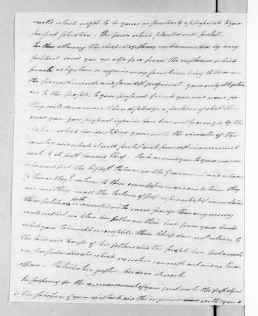 Henry Baldwin to Andrew Jackson, February 15, 1829