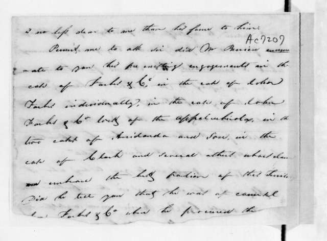 James Gadsden to Unknown, July 13, 1829