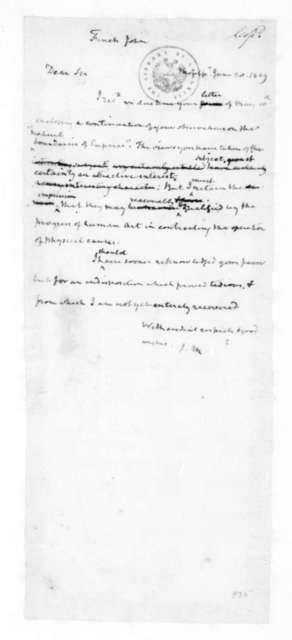 James Madison to John Finch, June 20, 1829.