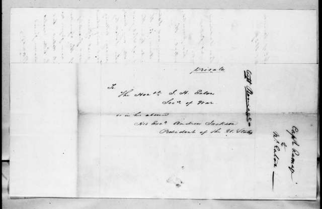 John Ramage to John Henry Eaton, May 24, 1829