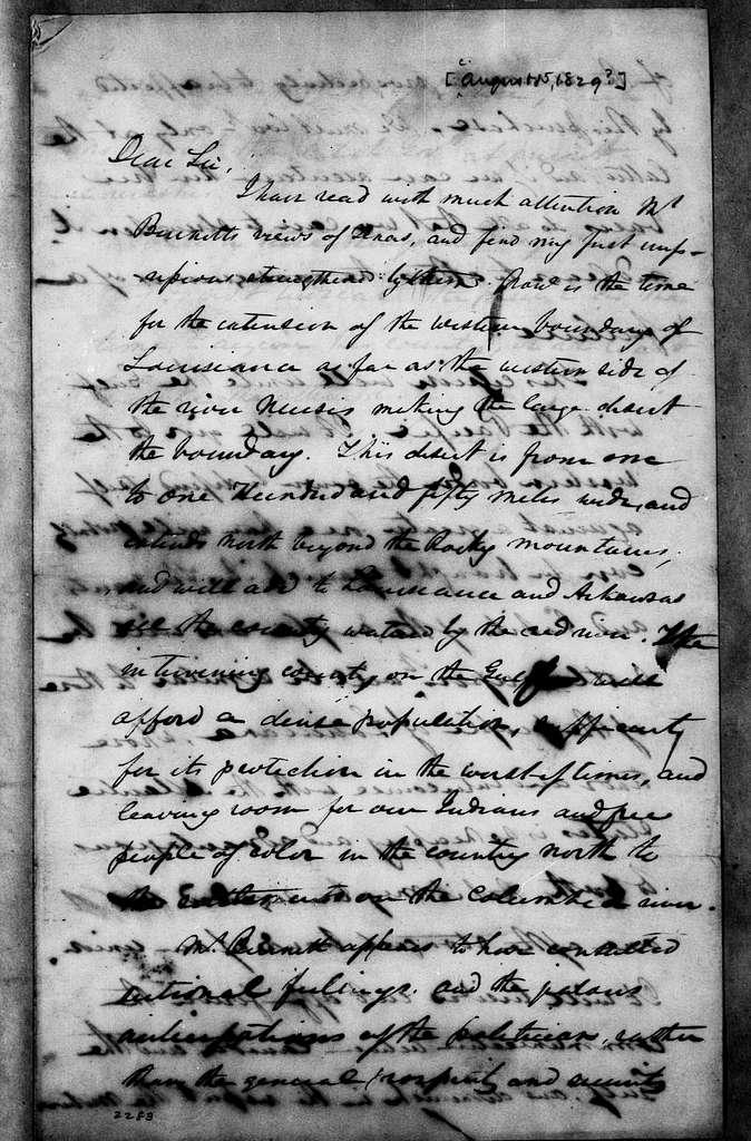 Martin Van Buren Papers: Series 2, General Correspondence, 1787-1868; 1829; 1829, Aug. 15 - Dec. 31