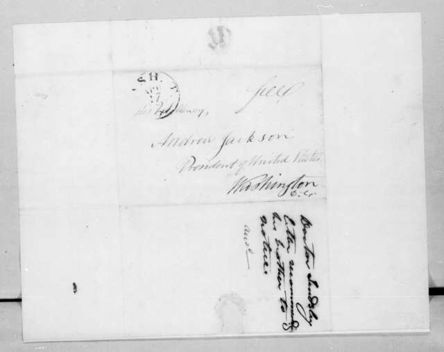 Philip Lindsley to Andrew Jackson, April 16, 1829