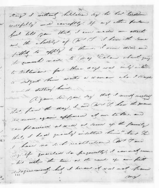 Richard Keith Call to Andrew Jackson, July 23, 1829