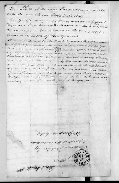 Robert Smith to Andrew Jackson, July 13, 1829