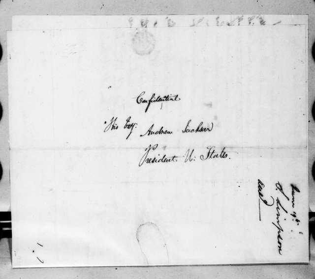 Stephen Simpson to Andrew Jackson, June 18, 1829