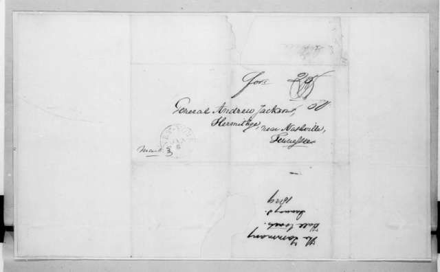 Tammany Hall to Andrew Jackson, January 8, 1829