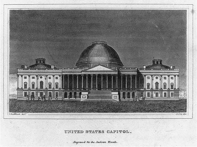 United States Capitol / C. Bullfinch delt. ; Childs dir.
