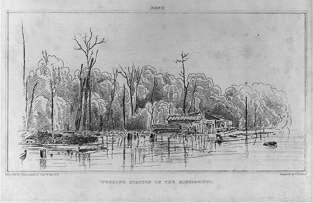 Wooding Station on the Mississippi