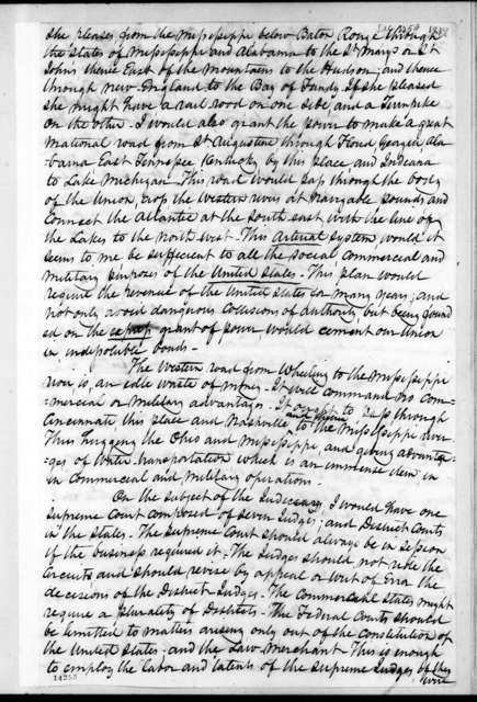 Worden Pope to Andrew Jackson, December 25, 1829