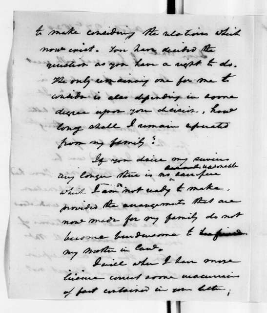 Andrew Jackson Donelson to Andrew Jackson, October 27, 1830