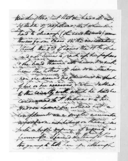 Henry Lee to Andrew Jackson, December 24, 1830