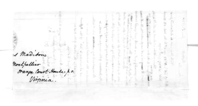 James Madison to Bernard Peyton, June 5, 1830.