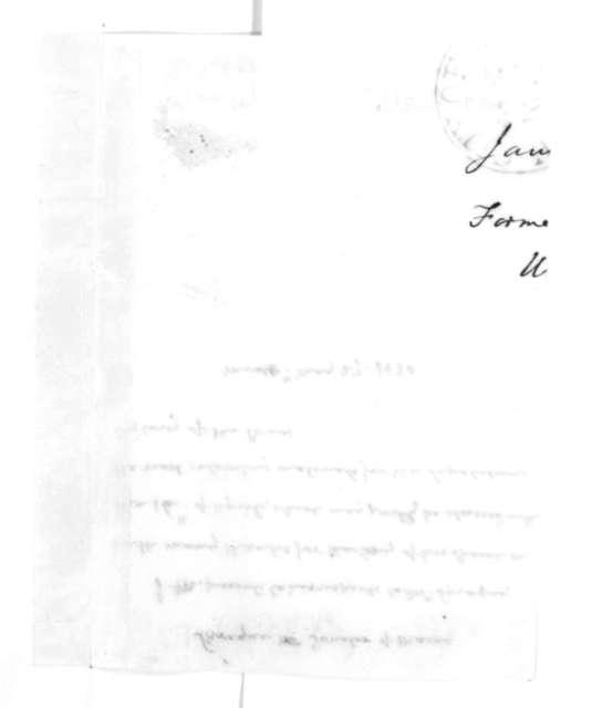James Madison to Peleg Sprague, May 27, 1830.