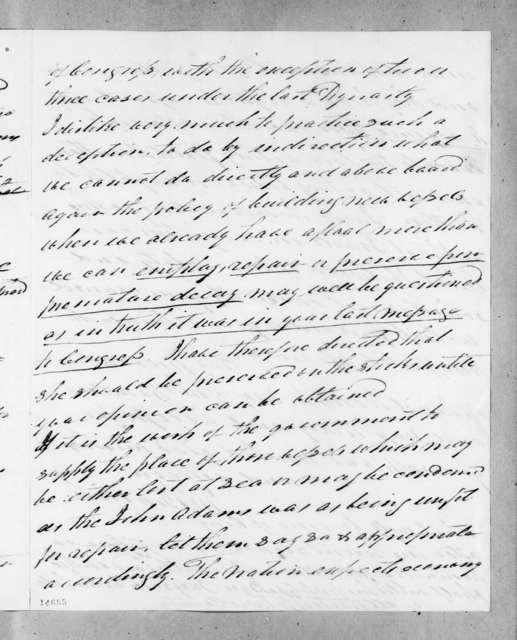John Branch to Andrew Jackson, August 14, 1830