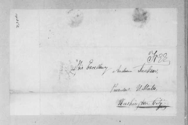 Stephen Simpson to Andrew Jackson, January 20, 1830