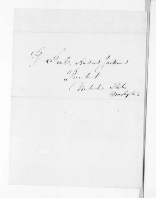 Sylvester S. Southworth to Andrew Jackson, December 18, 1830