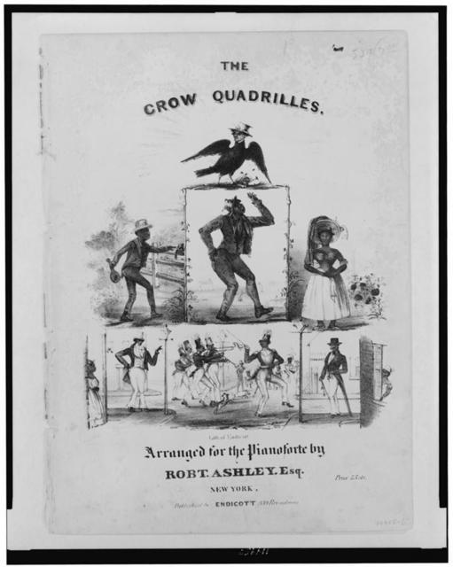 The crow quadrilles--Arranged for the pianoforte by Robt. Ashley, Esq. / lith. of Endicott.