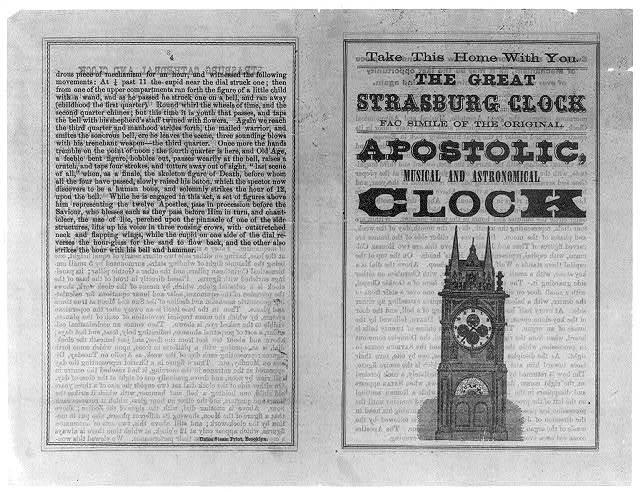 The Great Strasburg Clock - facsimile of the original Apostolic, Musical and Astronomical Clock