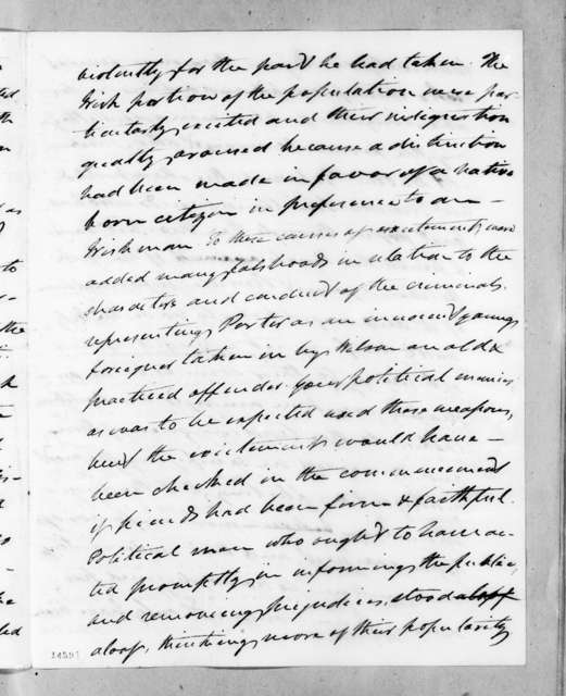 William Taylor Barry to Andrew Jackson, July 10, 1830