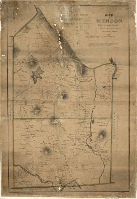 A map of Mendon, Worcester County, Mass.  /